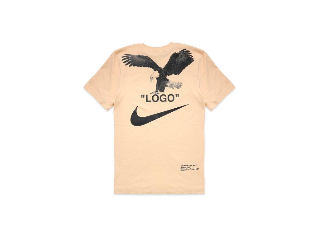 OFF WHITE x Nike NRG A6 Tee Vanilla 2