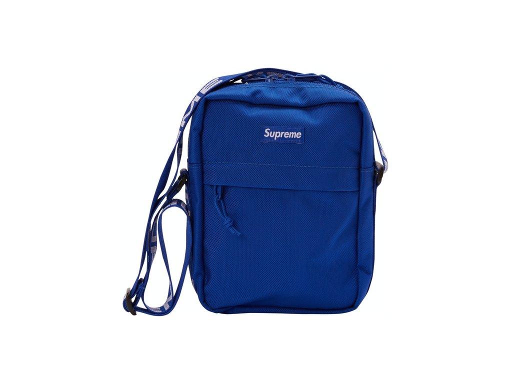Supreme Shoulder Bag SS18 Royal