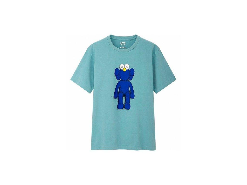 KAWS x Uniqlo Blue BFF Tee Green