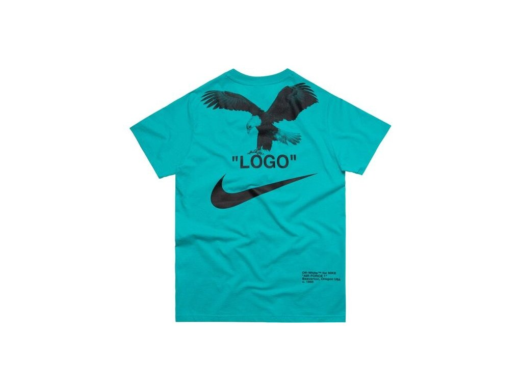 OFF WHITE x Nike NRG A6 Tee Retro Blue 2