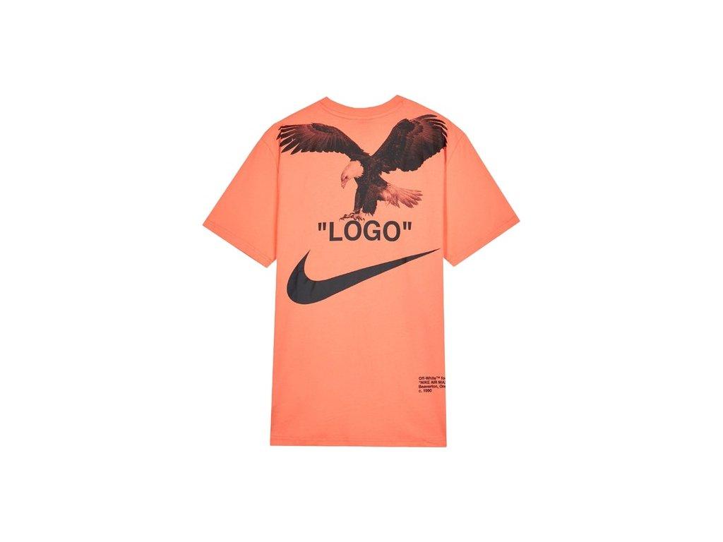 OFF WHITE x Nike NRG A6 Tee Wild Mango 2 2