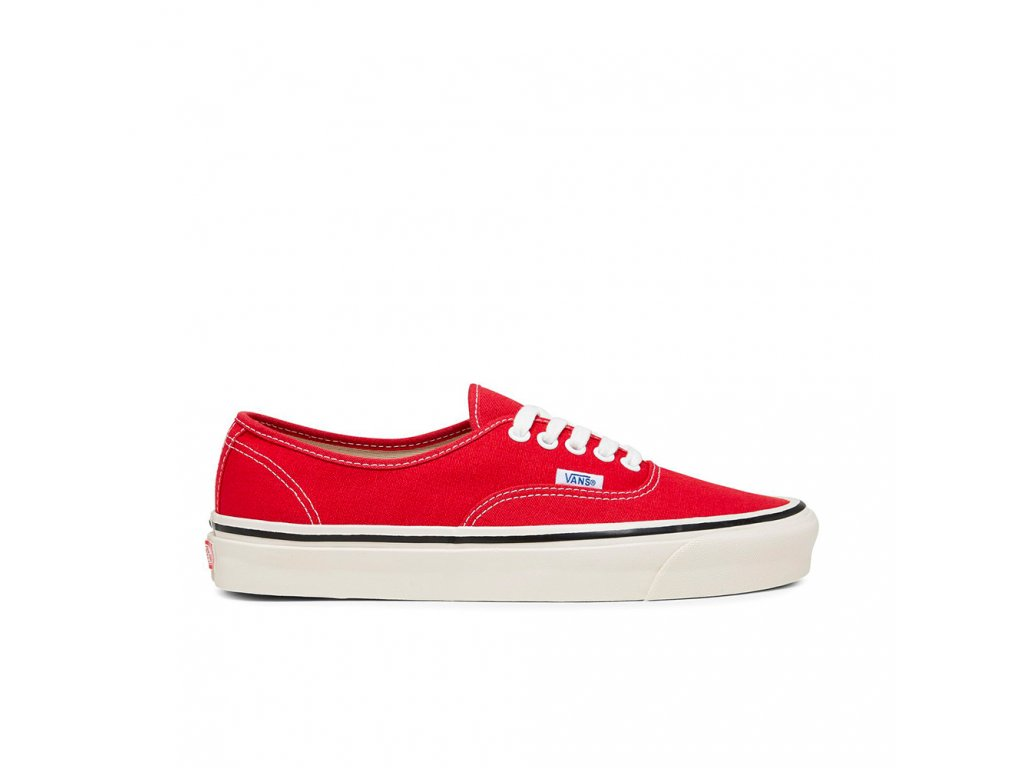 vans authentic 44 dx anaheim factory racing vn0a38enmr91 racing red