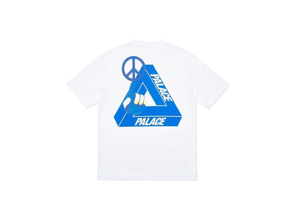Palace Tri Smiler T Shirt White 2