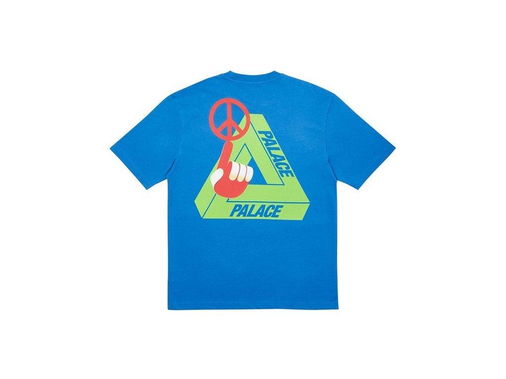 Palace Tri Smiler T Shirt Blue 2