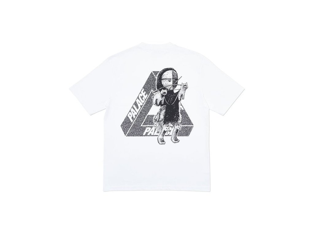 Palace U Figure T Shirt White 2