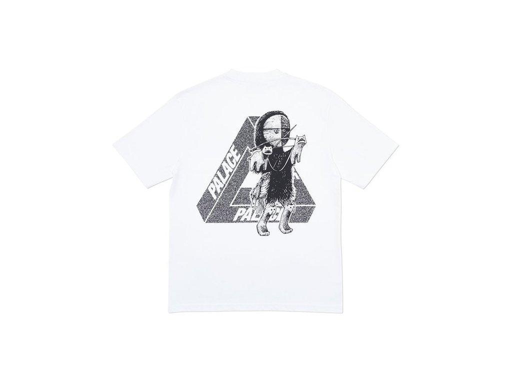 Palace U Figure T Shirt White 2