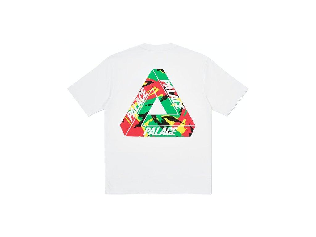 Palace Tri Camo T Shirt White