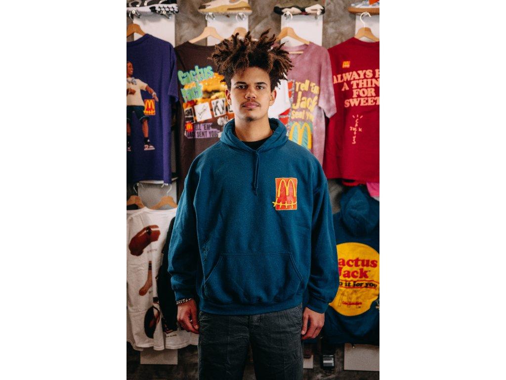 Travis Scott x McDonald's Sticker Hoodie