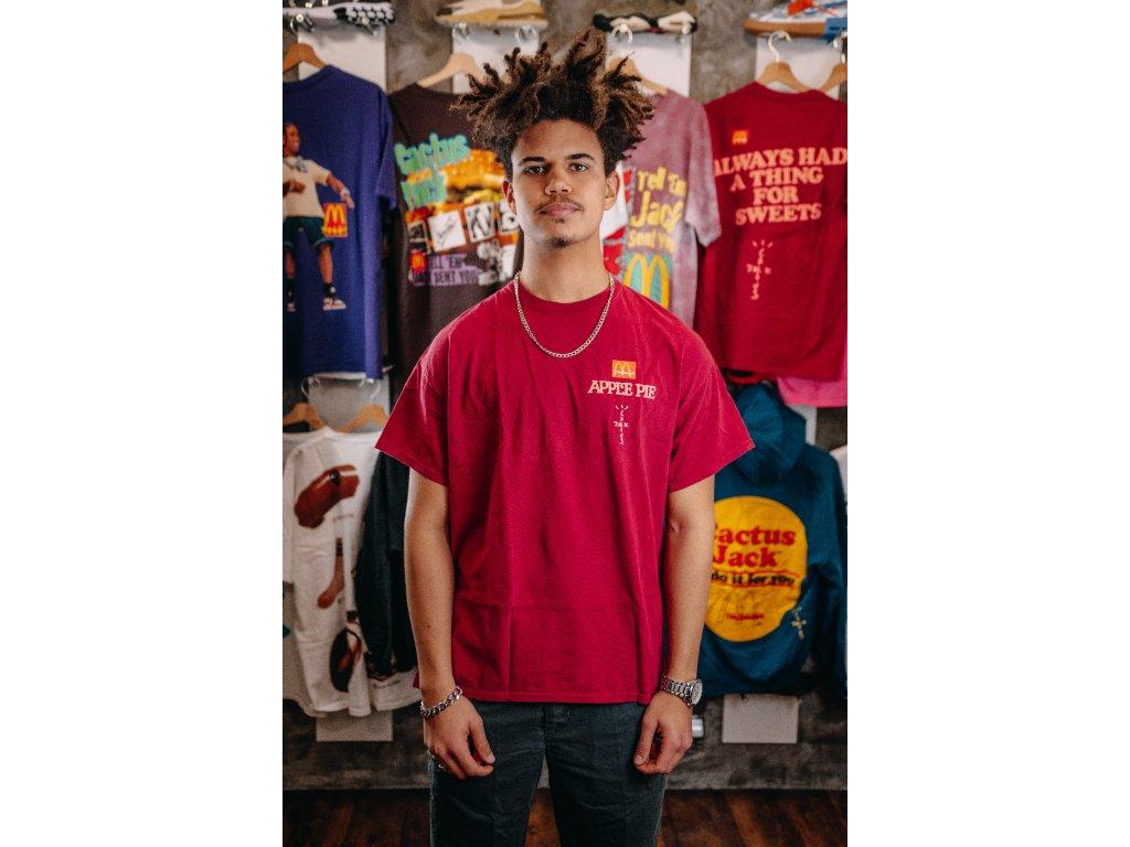 Travis Scott x McDonald's Apple Pie Tee