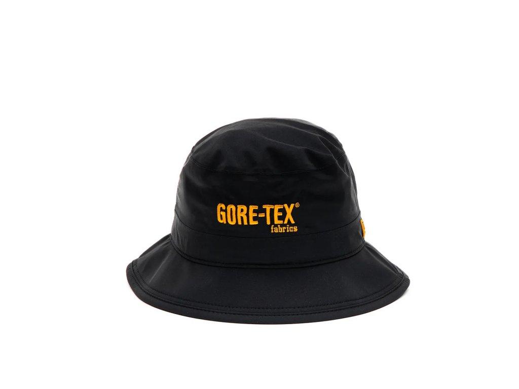 10371746ad24c408991f3945221c566881e6f482 New Era 12490249 Image Gore Tex Bucket Hat Black Orange 1