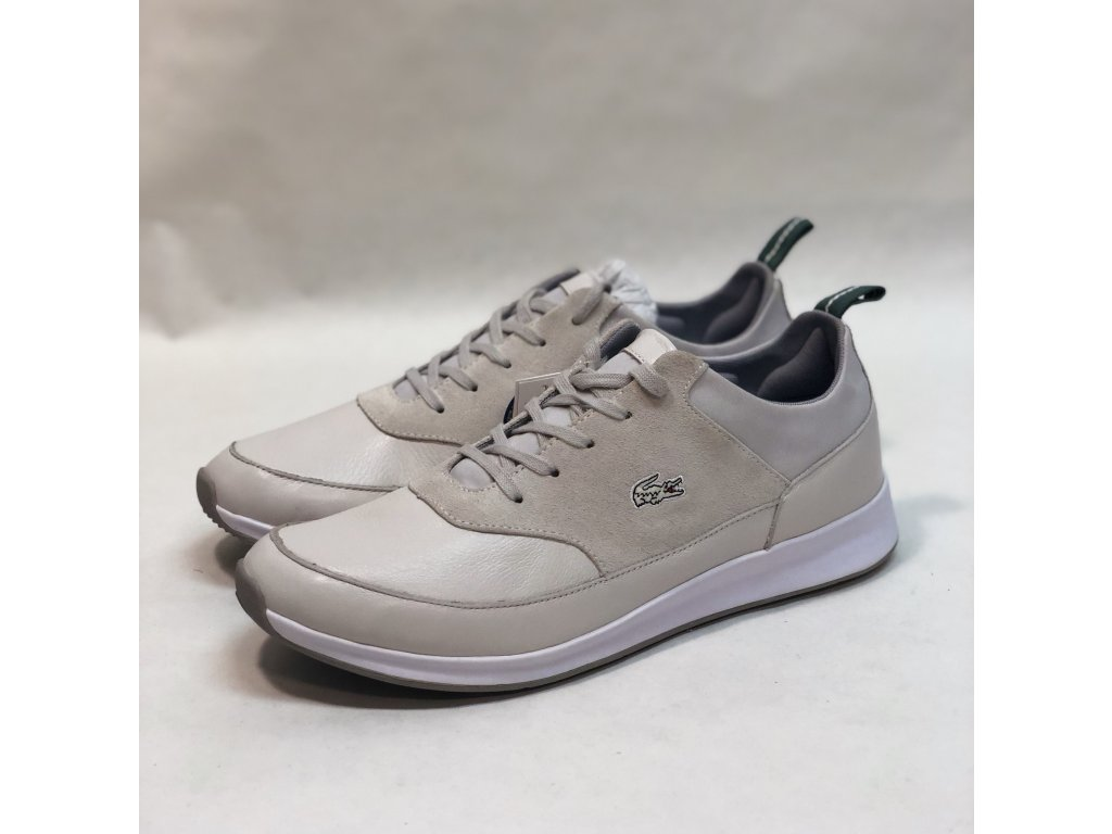 Lacoste Joggeur Leather Grey