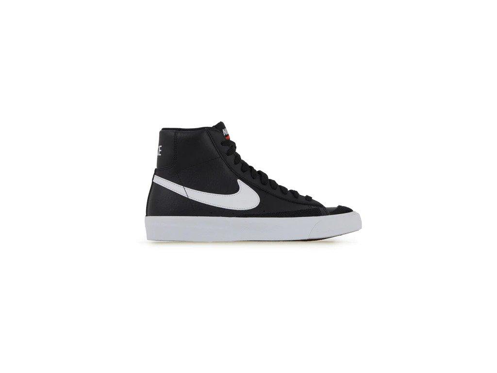 Nike Blazer Mid 77 Black White GS