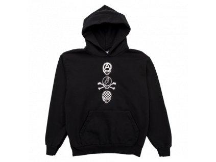 Pleasures Black Dead Crew Hoody 54d9fede f91f 49dc ad92 4b660355ea43 600x600