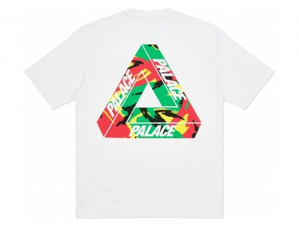 Palace Tri Camo T Shirt White