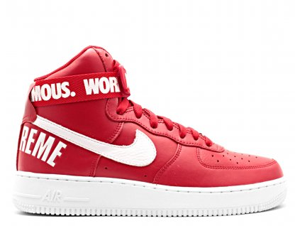"""Nike Air Force 1 High x Supreme SP """"World Famous"""""""