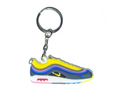 air max 1 97 sean wotherspoon silicone keychain