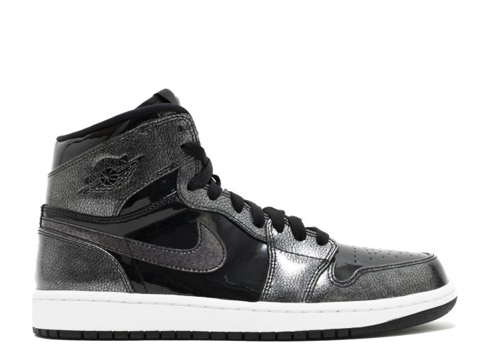 "Air Jordan Retro 1 High ""Black Patent"""