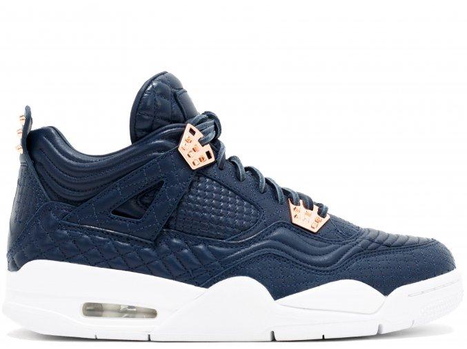 "Air Jordan Retro 4 Premium ""Obsidian"""
