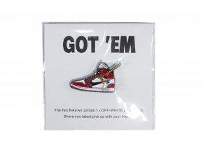 """GOT 'EM (AJ1 x OW """"Chicago"""") PinLock"""