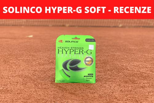 Solinco Hyper-G Soft - podrobná recenze