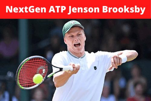 NextGen ATP Jenson Brooksby ve svém prvním ATP finále