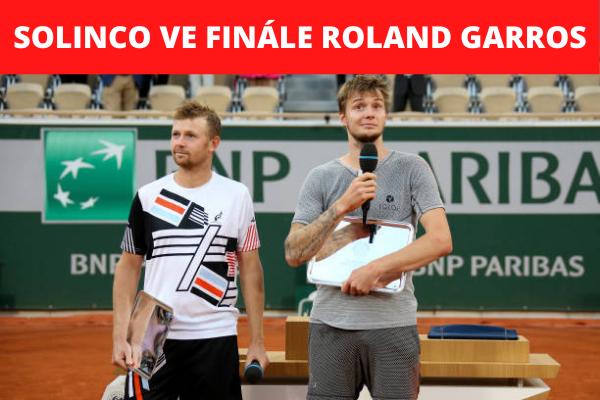 Solinco i letos na Roland Garros ve finále