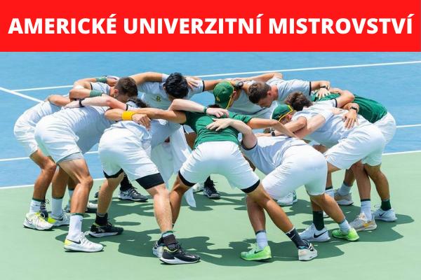 Jak dopadlo americké univerzitní mistrovství v tenise
