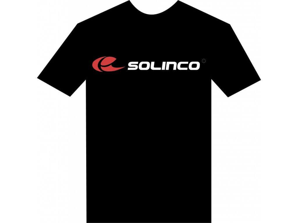 Solinco Tričko Černé