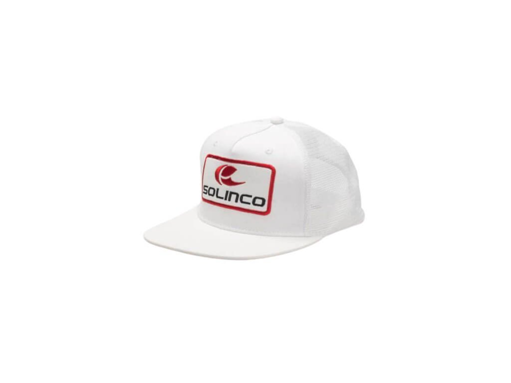Kšiltovka Solinco Trucker Cap bílá