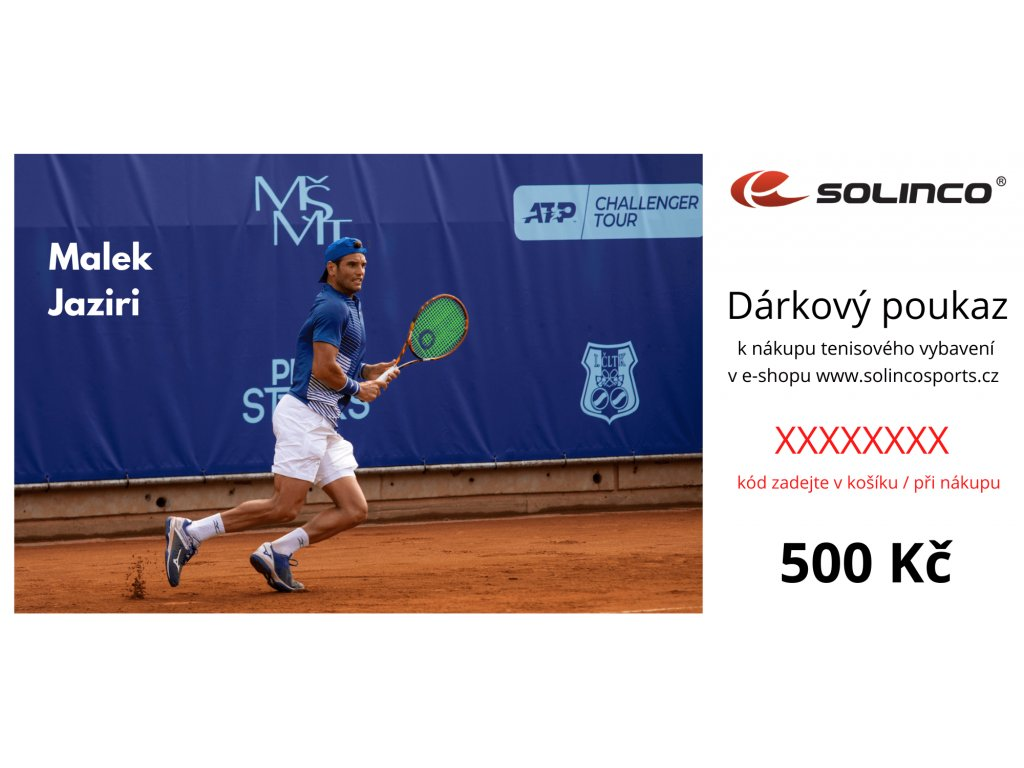 Dárkový poukaz Solinco 500 Kč