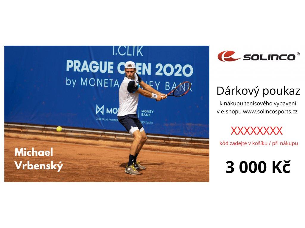Dárkový poukaz Solinco 3 000 Kč