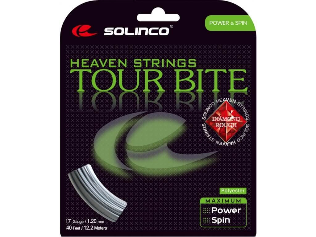 Výplet Solinco Tour Bite Diamond Rough 12m