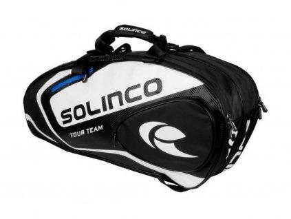 Solinco taška na rakety 6R modrá