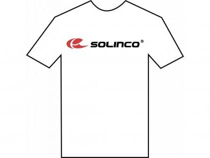 Solinco Tričko Bílé