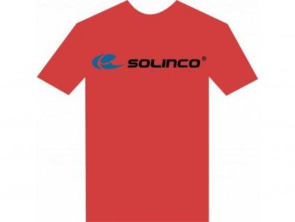 Solinco Tričko Červené