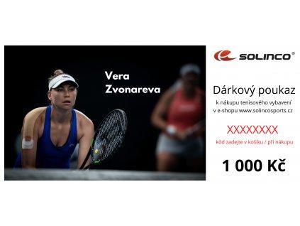Dárkový poukaz Solinco 1000 Kč