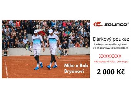 Dárkový pukz Solinco 2000 Kč