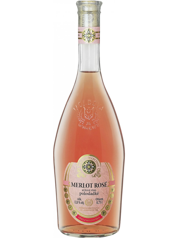 Merlot rose Sollus pinklabel
