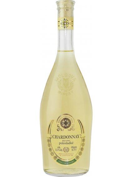 Chardonnay Sollus beigelabel