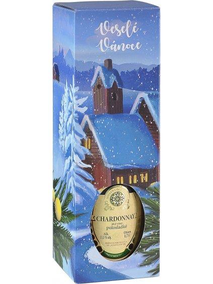 Chardonnay Vánoční krabička
