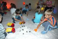 Mateřská školka v solné jeskyni Letňany
