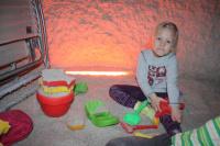 Děti v solné jeskyni Letňany