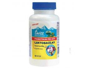 Swiss Lactobacílky dětské cucací 30 tbl