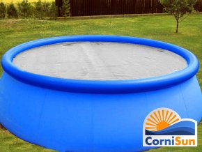 Cornisun solární plachta průhledná venkovní bazén uprav