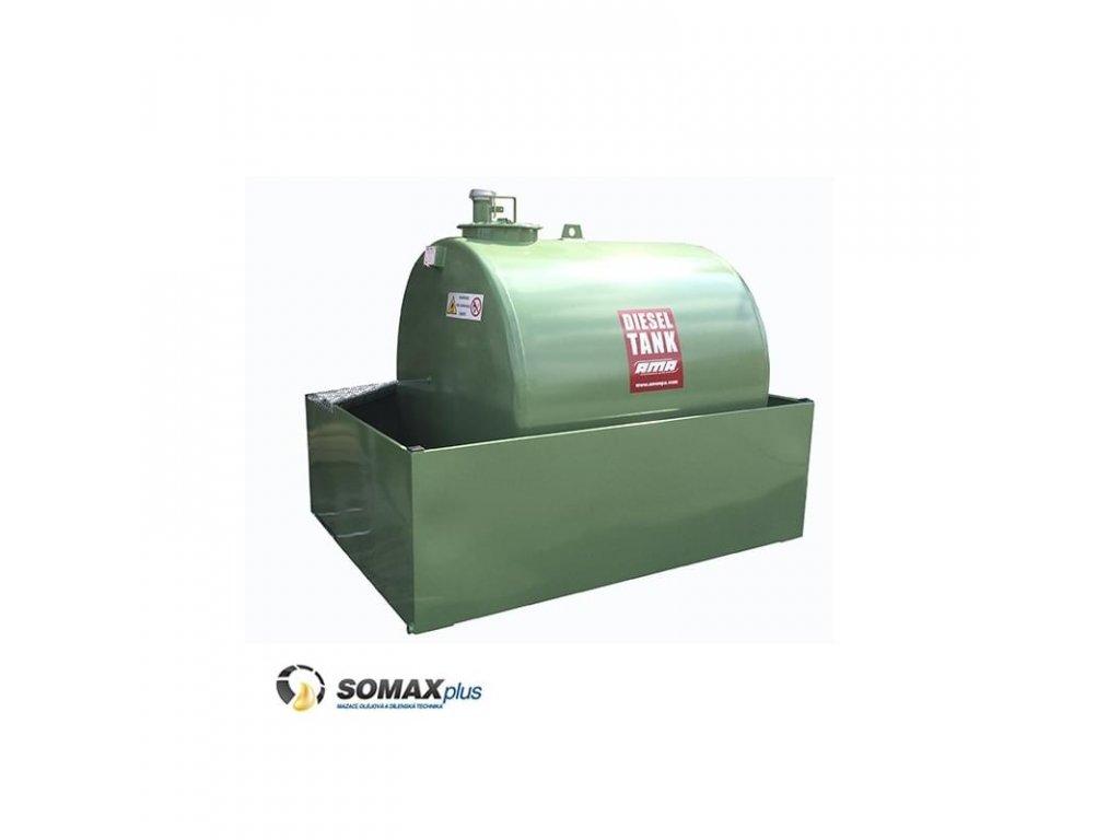 Jednoplášťová nádrž DTO120 12000 l_