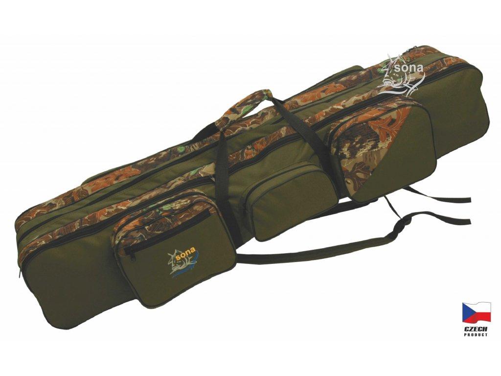 Rybářská taška tříkomorová model S