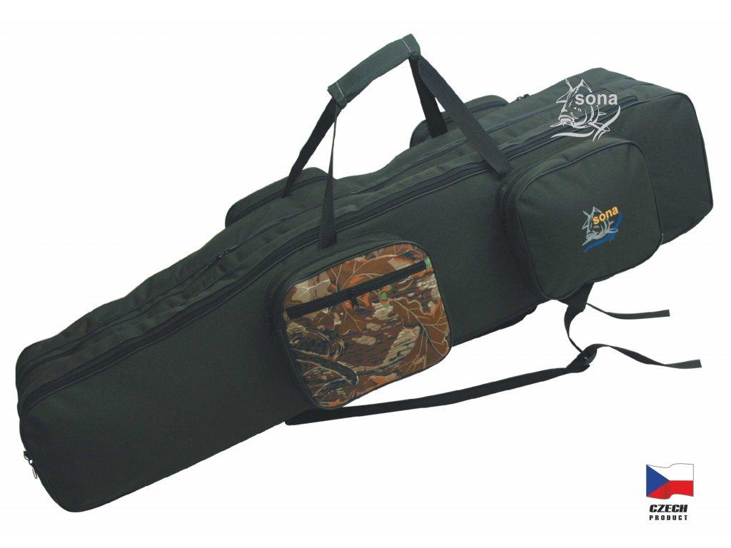 Rybářská taška tříkomorová model K