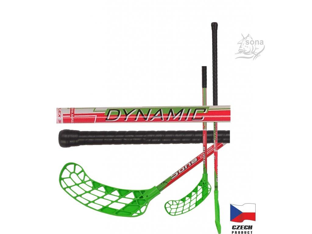 Floorbalová hokejka DYNAMIC