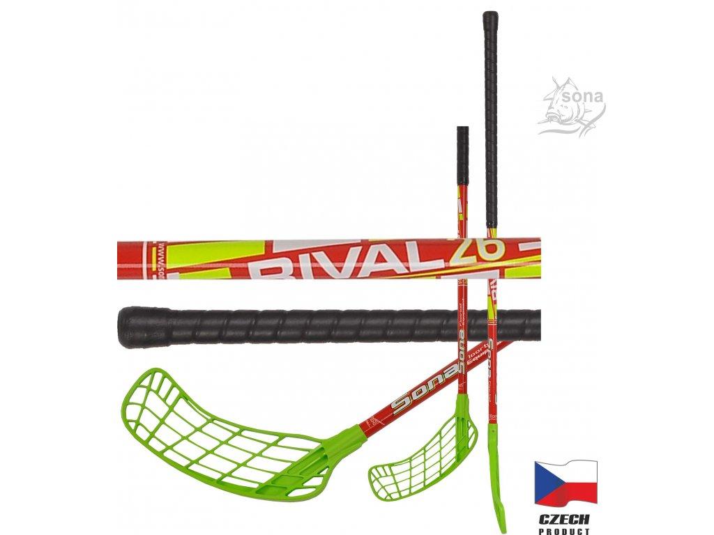 Floorbalová hokejka RIVAL FLEX 26