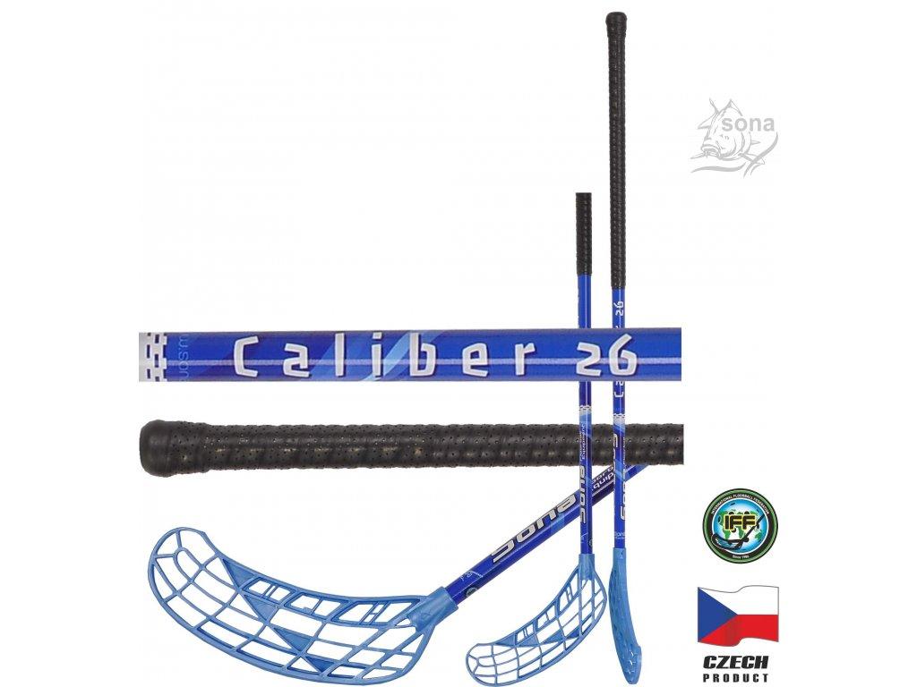 Floorbalová hokejka CALIBER FLEX 26 IFF